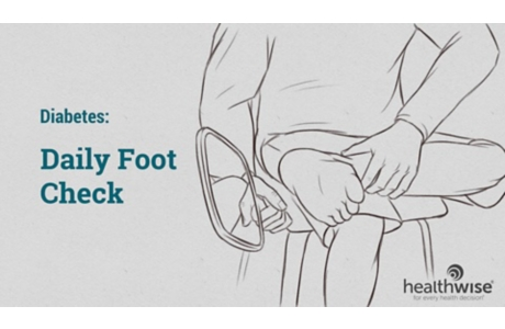 Diabetes: Daily Foot Check