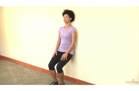 How to Do the Wall Sit Exercise