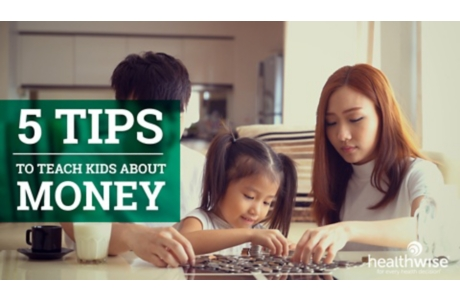 5 Tips to Teach Kids About Money