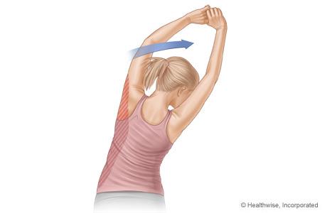 Latissimus stretch