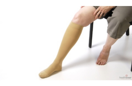 How to Put on Compression Stockings