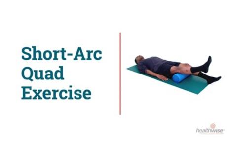 How to Do the Short-Arc Quad Exercise