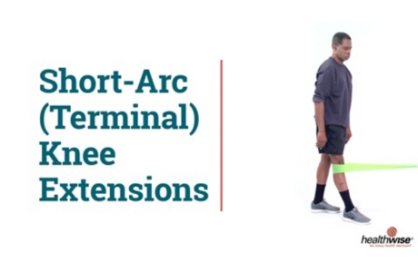 How to Do Short-Arc (Terminal) Knee Extensions While Standing
