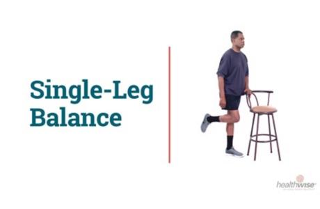How to Do the Single-Leg Balance Exercise