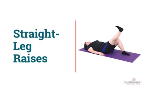 How to Do Straight-Leg Raises