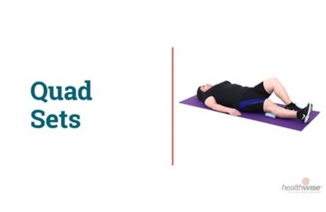 How to Do Quad Sets