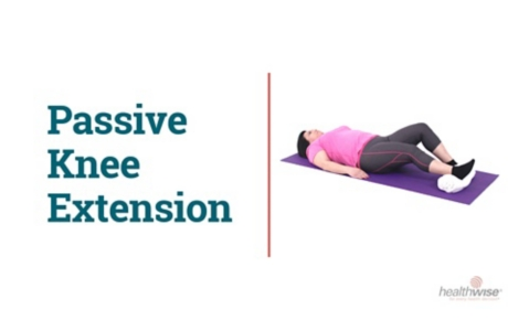 How to Do the Passive Knee Stretch