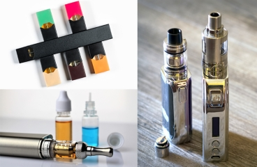 Assorted vaping devices