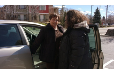 Caregiving: Helping Someone Get In and Out of a Car