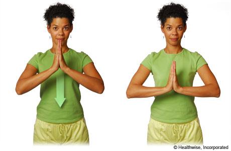 The prayer stretch