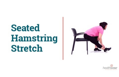 How to Do a Hamstring Stretch While Sitting