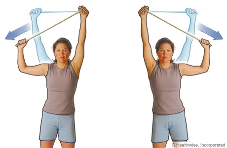 Side pull exercise