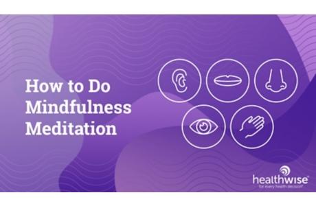 Mindfulness: Breathing Exercise