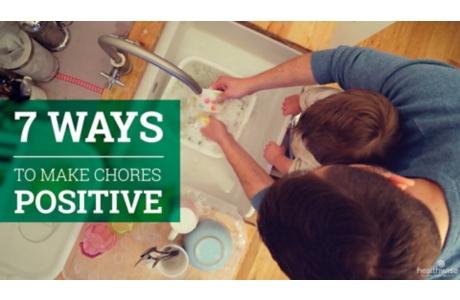 7 Ways to Make Chores Positive