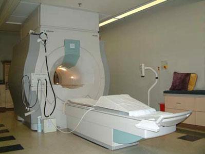 Standard MRI machine