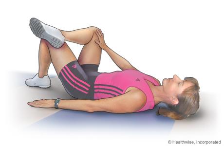 Hip rotator stretch