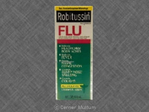 Image of Robitussin Flu