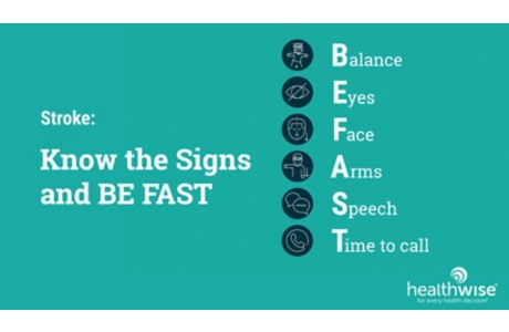 Stroke: Know the Signs and Act FAST