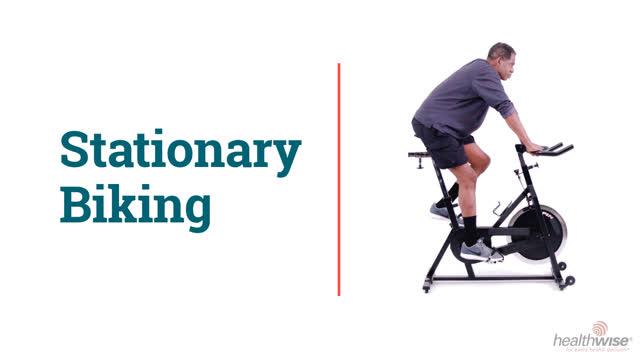 How to Do Stationary Biking for Knee Rehab