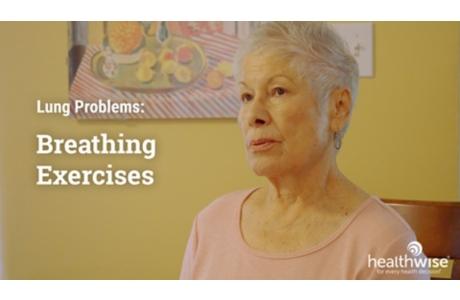 COPD: Exercises for Easier Breathing