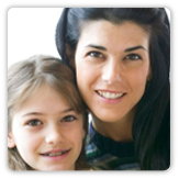 Photo of a woman and a female child