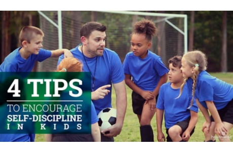 4 Tips to Encourage Self-Discipline in Kids