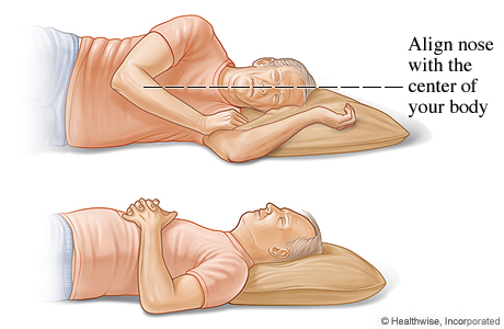 Safe sleep positions for your neck